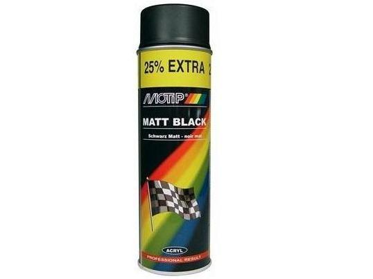 A rosol peinture motip noir mat - Peinture mat essence ...
