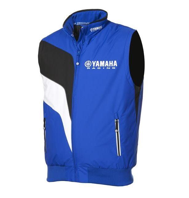 bodywarmer homme paddock bleu yamaha 2016 veste blouson sans manche. Black Bedroom Furniture Sets. Home Design Ideas