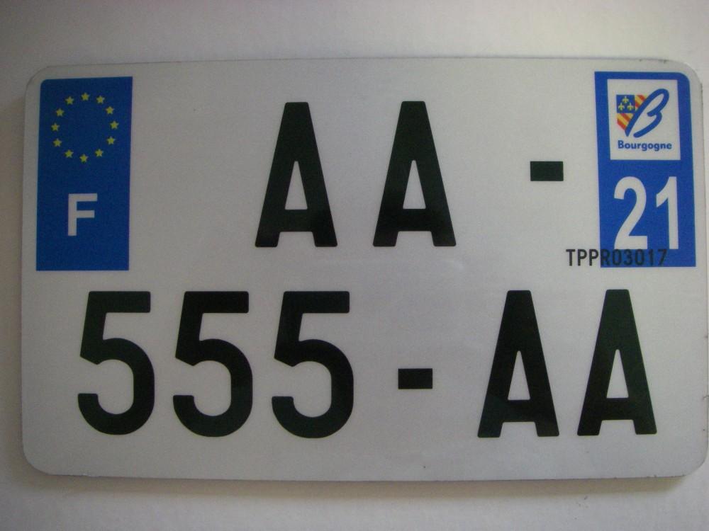 plaque d 39 immatriculation homologuee 2017 quad moto